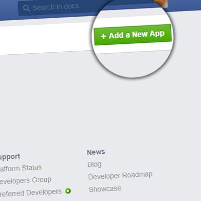 Регистрация OAuth приложения Facebook для LenAuth