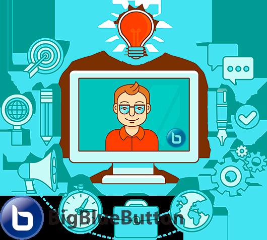Веб-конференции на базе BigBlueButton и Moodle, вебинары